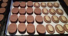 Domácí PRINCEZKY - sušenky s kávovou krémovou náplní