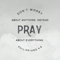 Do not be anxious about anything, but in every situation, by prayer and petition, with thanksgiving, present your requests to God. Philippians 4:6 NIV http://bible.com/111/php.4.6.NIV