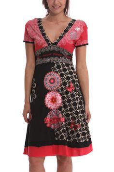 "Desigual Dress ""Flechazo"" (black) 41V2095 