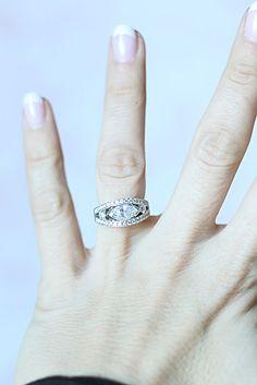 Engagement ring Marquise and tennis bracelet makeover! Diamond Pendant, Diamond Rings, Diamond Jewelry, Jewelry Rings, Jewellery, Marquise Ring, Right Hand Rings, Anniversary Rings, Diamond Are A Girls Best Friend