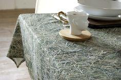 HAYKA tablecloth / design: hay / 100% cotton / www.hayka.eu