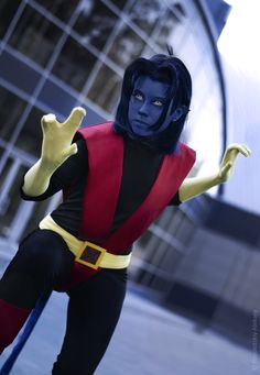 Nightcrawler, cosplayed by TophWei, photographed by Alexei Povolotskiy from Comics Alliance