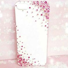#mulpix New iPhone case #iPhone #iPhonecase #iPhoneケース #スマートフォン #スマホケース #スワロフスキー #キラキラ #デコケース #デコレーション #デコ #Pink #ピンク #グラデーション #オーダー #オーダーデコ