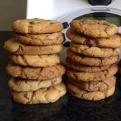 Recipe Choc Chip Cookies - Nut Free by Cherieejane, learn to make this recipe easily in your kitchen machine and discover other Thermomix recipes in Baking - sweet. Sweet Recipes, Snack Recipes, Snacks, Yummy Recipes, Thermomix Desserts, Biscuit Cookies, Nut Free, Chocolate Chip Cookies, Food To Make