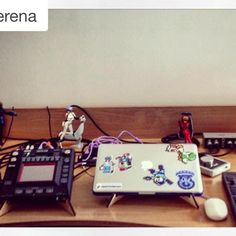 #Repost @cemillerena ・・・ New @cremacaffeshop stands for my KP3 and laptop arrived today! Thanks!! #synth #volcas #cemi #studio #ableton #korg ・・・ KOSMO double stand http://cremacaffedesign.com/kosmo/ #cremacaffedesign #kosmo #tabletop #stand #synthstand #desktopstand #actionfigures #kaosspad #abletonpush #volca #digitalnomad #electronic #music #MusicGear #laptopstand #apogee #cute #HomeStudio #musician #beats #musicislife #creative #instamusic