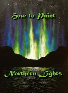 In this video, I'll be showing you how to paint the northern lights. This is a good lesson for beginners and up! I'm painting on a 12x16 in canvas board, but...