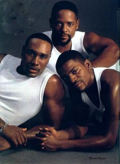 Trifecta! Morris Chestnut, Mekhi Phifer, Blair Underwood
