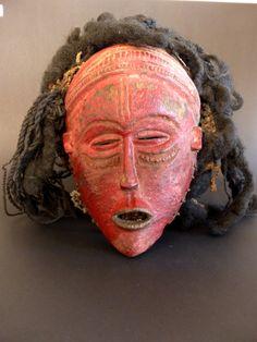 Mwana Pwevo mask, Lovale, Zambia