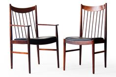 Helge Sibast  #422 / 423 Sibast Rosewood Dining Chairs - Click for more images