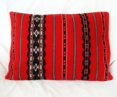 Pillow made with traditional Romanian tapestry,Romania