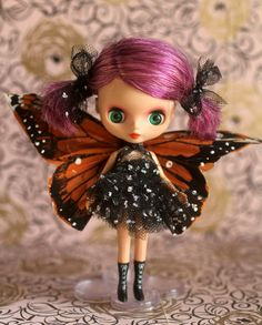 SugarPlum Fairy  - A Mab Girl  custom FBL Blythe by Mab Graves. This girl is just adorable!!!
