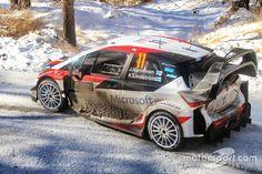 Juho Hänninen, Kaj Lindström, Toyota Yaris WRC, Toyota Racing Road Rally, Rally Car, Rallye Wrc, Toyota, Car Wrap, Monte Carlo, Hot Cars, Cars And Motorcycles, Race Cars