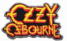 Ozzy Ozzie Osbourne Black Sabbath t Shirt Logo Patches Size : inches = cm) Patch can be Iron on with Heat or Sew. Product by Cotton Best Quality Gurantee Estimate time for Delivery. Cool Patches, Pin And Patches, Iron On Patches, Heavy Metal Music, Heavy Metal Bands, Ozzy Osbourne Logo, Ozzie Osbourne, Heavy Metal Patches, Black Sabbath T Shirt