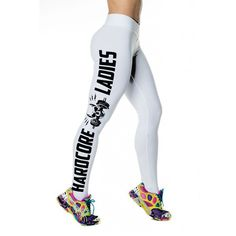 2016 Hot Top Quality Compression Fitness Women  Sporting Pants Elastic Breathable Quick Dry Slim Letter Print Leggings Trousers