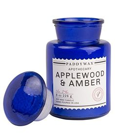 Paddywax Apothecary Collection Jar Candle, Applewood/Amber, 8 oz Paddywax http://www.amazon.com/dp/B016UPY5SG/ref=cm_sw_r_pi_dp_oGZywb1XJ3BCE