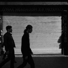Brick Lane Print, London Print, Silhouette Print, Urban Photography, Black And White Photography, Photography, Street Photography, London by AmadeusLong on Etsy