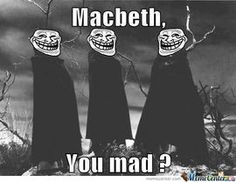 Image result for macbeth goes to witches