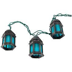 Moroccan Lantern String Lights : Lantern String Lights (Set of 10) - Bed Bath & Beyond Glamping Pinterest Products, Bed ...
