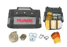 ProMark Offroad ATV Winch Accessory Kit with 8k Snatch Block, Tree Straps, Shackles and more VJ by ProMark. $49.99. Whether you are an experienced or novice ATV winch user, for safety and security's sake, the winch accessory kit is a must for all ATV riders! Included with the kit are 2 different length tree straps to help anchor or tow your ATV, 2 clevis/D shackles, and snatch block to assist in any heavy lifting you might run into. We have even included a pair of heavy duty lea...