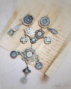 """""""Kalysta"""" necklace by Atelier Jenwww.atelierjen.com"""