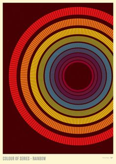 Colour Of Series - Rainbow by Simon C Page