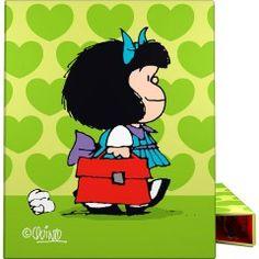 Carpeta Anillas A4 Mafalda Corazón de Grafoplas - TodoPapás