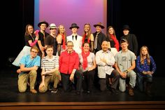 Join us tonight for the first performance of our fall production, The Musical of Musicals - starting at 7:30 pm in Pingree Theater!  In this hilarious satire of musical theatre, one story becomes four delightful musicals, each written in the distinctive style of a different master of the form - from Rodgers and Hammerstein to Stephen Sondheim.   Shows run October 24-27, Admission is $5 at the door.