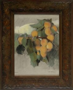 Apricots 1 Lucia Mathews | OMCA COLLECTIONS