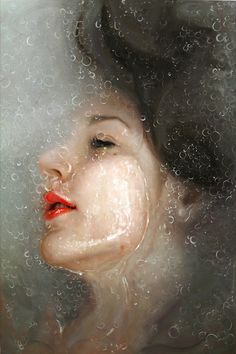 oil painting. This is gorgeous!