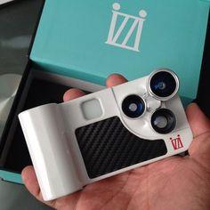 iZZi gadgets lentes para iphone!