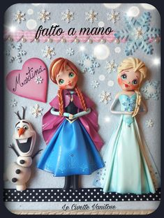 Frozen polymer clay fimo
