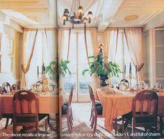 House & Garden, October 1999, Pieter Estersohn photographer.
