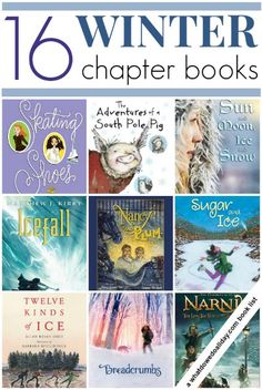 Winter Chapter Books for Kids!