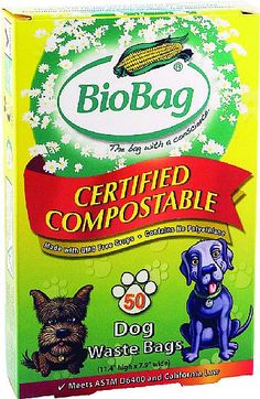 I love BioBag - especially their Dog Waste Bags that keep me from entombing or mummifying it for a 1000 years!
