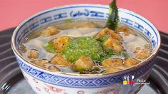 """- Entrée / Végétarien - Anne Alassane vous propose sa recette de """"soupe miso à ma façon"""" inspirée par """"Le burger végétal"""" de Séverine"""