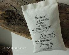 Home is where... Lavender Bag from www.snowgooseuk.com