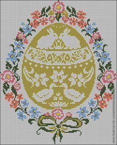 Пасхальная подборка схем для вышивки. (3) / Вышивка / Схемы вышивки крестом, вышивка крестиком