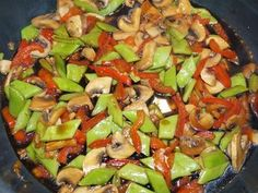 Snijbonen met paprika en champignon - Vol Smaak Side Dish Recipes, Asian Recipes, Ethnic Recipes, Tagine, Homemade Recipe Books, Healthy Cooking, Cooking Recipes, Weigt Watchers, Clean Eating