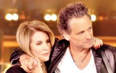 Lindsey Buckingham and Stevie Nicks Stevie Nicks Lindsey Buckingham, Buckingham Nicks, Stephanie Lynn, Stevie Nicks Fleetwood Mac, Her Music, Music Music, Rock Legends, Female Singers, Celebs
