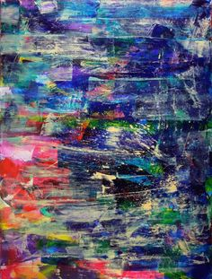 ARTFINDER: Underwater colorfield by Nestor Toro - All of my painting start with big bold strokes of many colors. Love creating those first layers building up into a complex combination of shapes, colors and . Abstract Images, Abstract Art, Abstract Paintings, Paintings For Sale, Original Paintings, Colour Field, Abstract Expressionism Art, Diy Canvas Art, Art Sketchbook