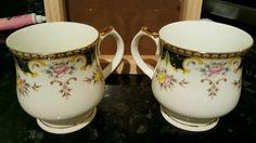 Castle Church Fine Bone China Tea Cups