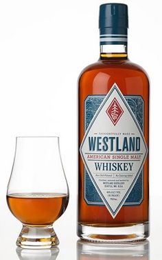 The newly-released Westland American Single Malt Whiskey from Seattle.
