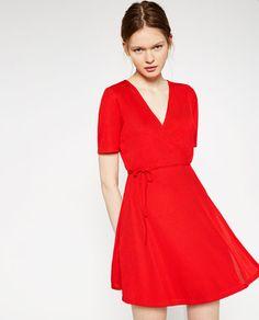 CROSSOVER DRESS from Zara