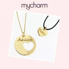 Scopri la collezione di MyCharm - Due in uno - Su www.palmart.it #mycharms #mycharm #italianjewelry #italiandesign #tagoftheday #picoftheday #promozioni #gioielliitaliani #collana #regalo #love #cuore #incisione