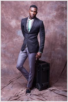 Emerging African Fashion Designer Is Raising The Bar For Menswear Fashion. Tailored Suites And Exquisite Colors Is A Sure Show Stopper. African Fashion Designers, African Men Fashion, Sharp Dressed Man, Well Dressed Men, Suit Fashion, Mens Fashion, Fashion Menswear, Nigerian Men, Gq Style