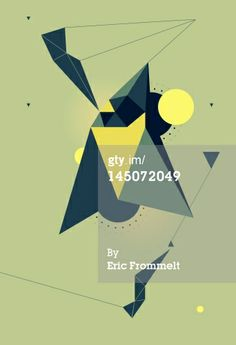 Stock Illustration : Abstract geometric shapes
