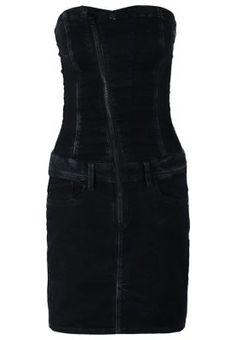 LYNN - Denim dress - joll superstretch