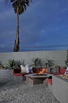 halina pillow at the Hotel Lautner, Palm Springs, CA