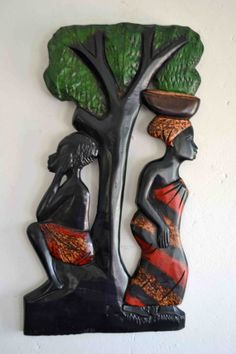 African Art African American Art Mother by Boriquahafrikanah, $45.00