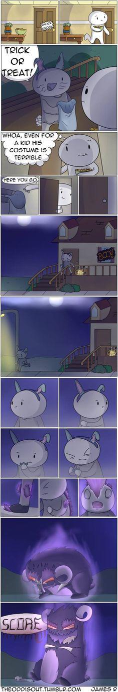 Theodd1sout :: It's Halloween | Tapastic Comics - image 1